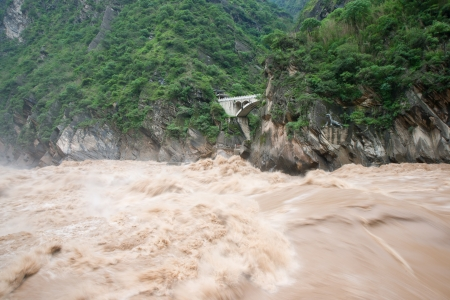 Tiger Leaping Gorge in Lijiang, Yunnan Province, China Stock Photo - 16293704