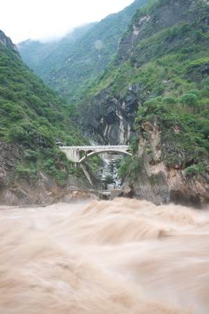 Tiger Leaping Gorge in Lijiang, Yunnan Province, China Stock Photo - 16293612