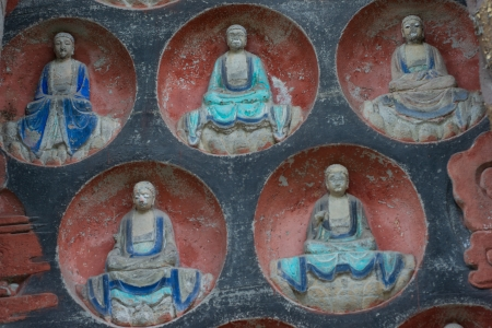 DAZU TOWN CHONGQING CHINA - NOVEMBER 23   Ancient Buddhist Hillside Rock Carvings, Ten Austerities of Liu Benzun - November 23,2012 at Baodingshan temple in Dazu town, Chongqing, China Stock Photo - 17308895