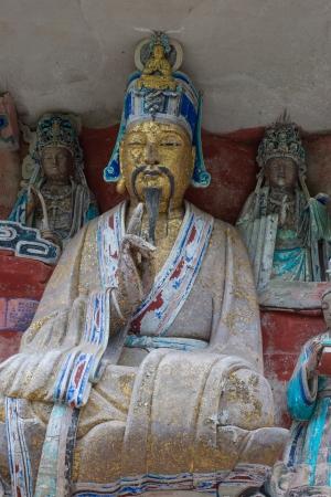 liu: DAZU TOWN CHONGQING CHINA - NOV 23  Ancient Buddhist Hillside Rock Carvings, Ten Austerities of Liu Benzun - November 23,2012 at Baodingshan temple in Dazu town, Chongqing, China
