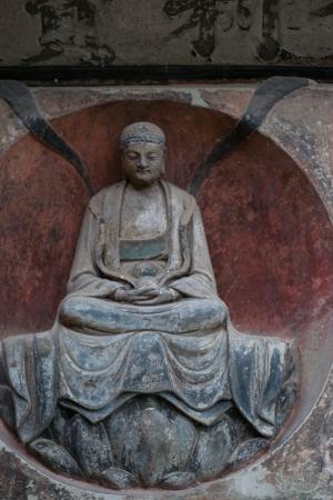 DAZU TOWN CHONGQING CHINA - NOV 23  Ancient Buddhist Hillside Rock Carvings, Ten Austerities of Liu Benzun - November 23,2012 at Baodingshan temple in Dazu town, Chongqing, China Stock Photo - 18614340