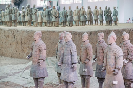 Dinast�a Qin Ej�rcito de Terracota, Xi'an, China