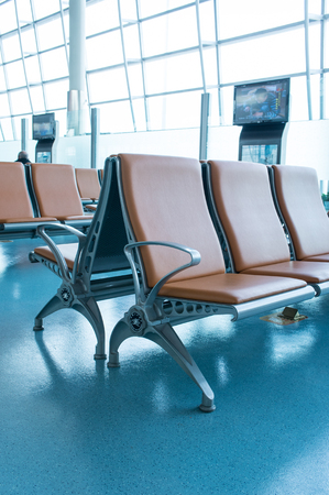 sedia vuota: Sedia vuota in aeroporto Editoriali
