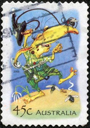AUSTRALIA - CIRCA 2002  stamp printed by Australia, shows Goblin, circa 2002 Stock Photo