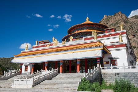 tibetan house: Tibet temple Stock Photo