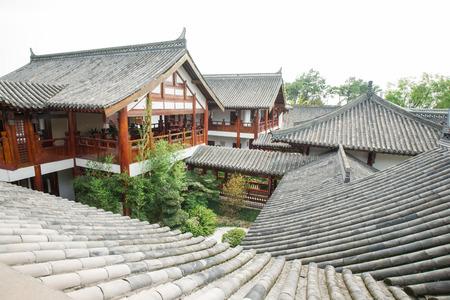 traditional chinese building ,chongqing,china