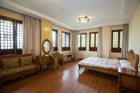 Interior view of a room in a resort