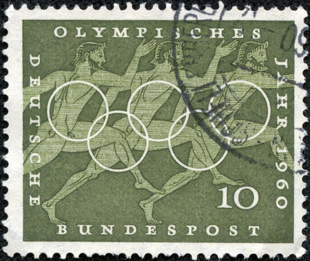 Olympic Year 1960, BRD, Germany, mint condition