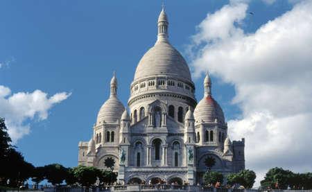 The Basilica of the Sacre-Coeur, Montmartre, Paris