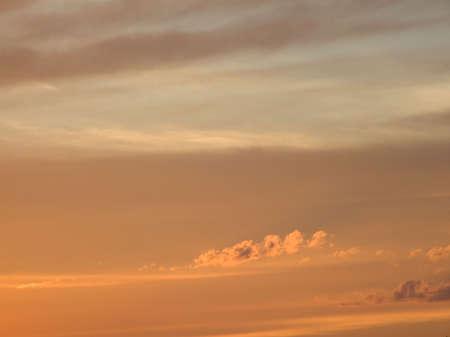 evocative: Evocative colorful sunset