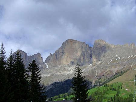 Rosengarten chain in the Alps photo