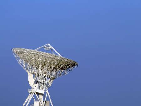 The 32 meters parabolic antenna of Medicina - Bologna - Italy Stock Photo