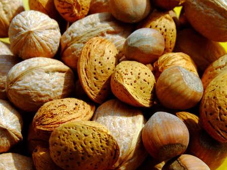 Close-up of mixed nuts