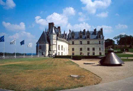 touraine: The garden of Amboise castle