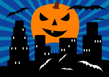 Scary town Stock Vector - 2038358
