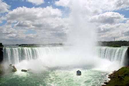 Horseshoe Niagara Falls on the canadian border