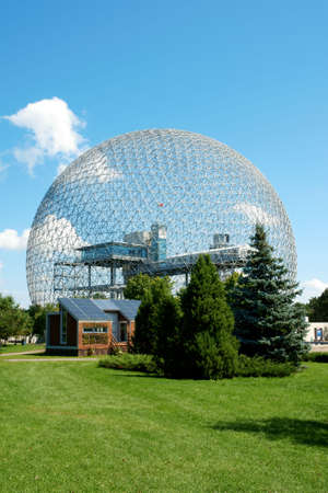 montreal: The geodesic dome called Biosphere is a museum in Montreal dedicated to water and the environment. It is located at Parc Jean-Drapeau, on Saint Helens Island in the building of the United States pavilion for the 1967 World Exhibition Expo 67.