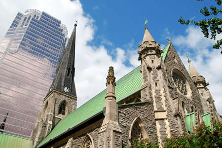 anglican: Anglican Cathedral of Montreal.