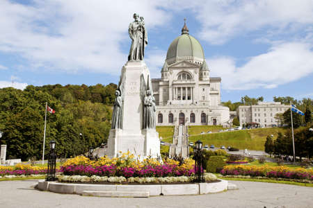 Saint Joseph Oratory construction began in 1904.
