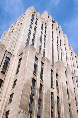 Aldred Building in art deco style in Montreal downtown Stock Photo - 4586675