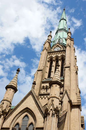 Detail of the Cathedral Church of Saint James. Diocese of Toronto.