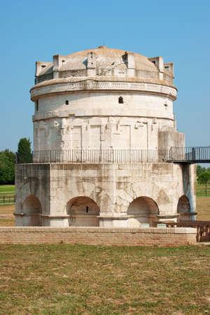 Mausoleum of Theodoric in Ravenna.
