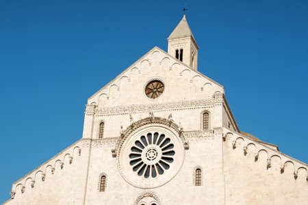 The Basilica of Saint Nicholas in Bari, in Romanesque style, was built where previously was the residence of the Byzantine Governor of Italy.