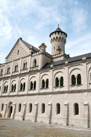 neuschwanstein: Neuschwanstein Castle in Bavaria, Germany