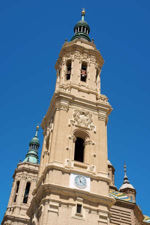 Basilica-Cathedral of Our Lady of the Pillar in Zaragoza is supposed to be the first dedicated to Holy Mary. photo