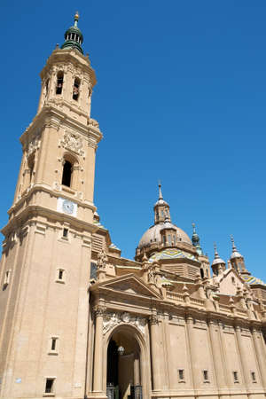 Basilica Cathedral of Our Lady of the Pillar in Zaragoza is supposed to be the first dedicated to Holy Mary  The first church on this site was Romanesque, the construction of the present one, in Baroque style was begun in 1681 by Charles II, King of Spain and completed in 1686