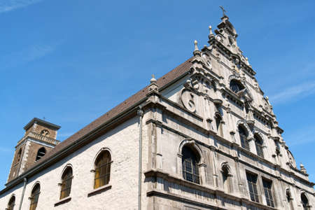previously: The Greek Orthodox Church previously was a Jesuit Church dedicated to Saint Michael and Saint Dimitrios in downtown Aachen, North Rhine-Westphalia, Germany.
