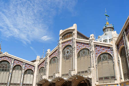 central market: Mercado Central or Central Market of Valencia is one of the oldest in Europe