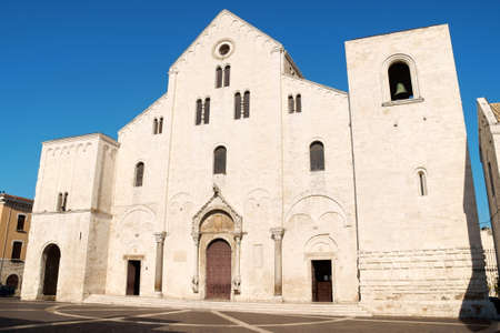 The Basilica of Saint Nicholas, in Romanesque style, in Bari was built where previously was the residence of the Byzantine Governor of Italy
