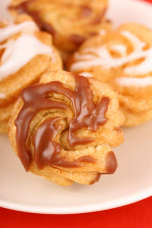 zeppola: Zeppole di San Giuseppe or St  Joseph Stock Photo
