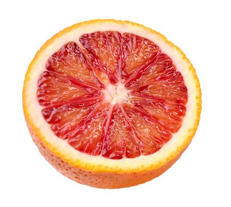 cut blood orange