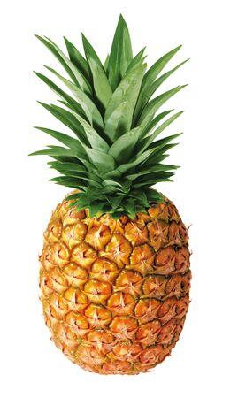 ananas su sfondo bianco