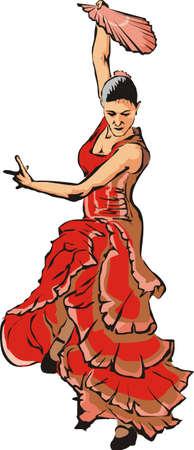 flamenco - hot-blooded dance