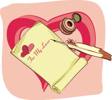 inkpot: love letter