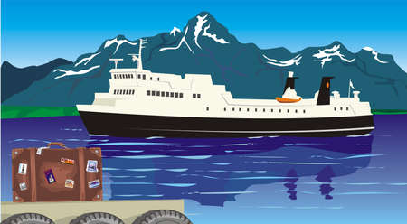 ferryboat: to cross the magic fjord by ferry