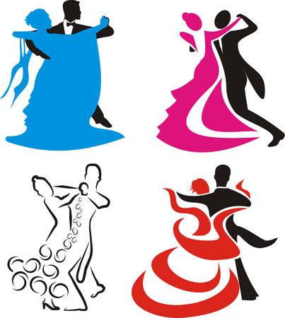 Tanz-logo Standard-Bild - 8951748