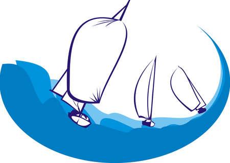 wzburzone morze: Regaty - surowca Morza