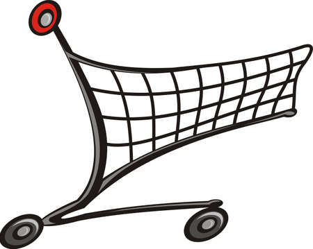 article marketing: shopping trolley