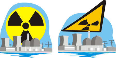 fission: nuclear power plant - atomic risk