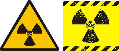 radiation sign: radiation - sign Illustration