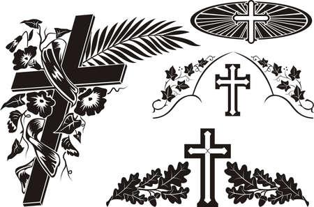 ivies: grave decoration - decorating a memorial plaque