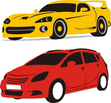 family van: sports car or family van