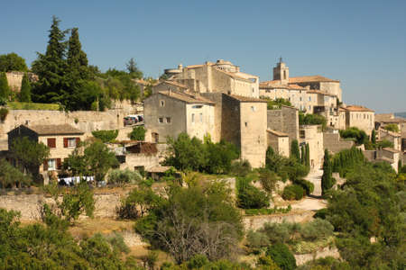 Gordes - a city on the hill photo