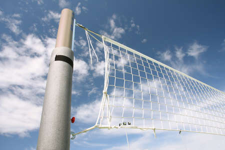 volleyball net Stock Photo - 10648518
