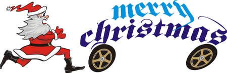 pursue: chasing christmas santa