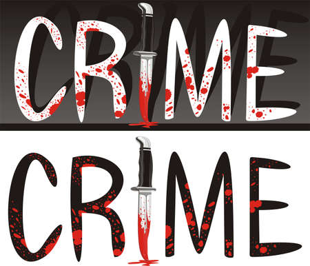 crime scene - crime of passion Stock Vector - 11375827